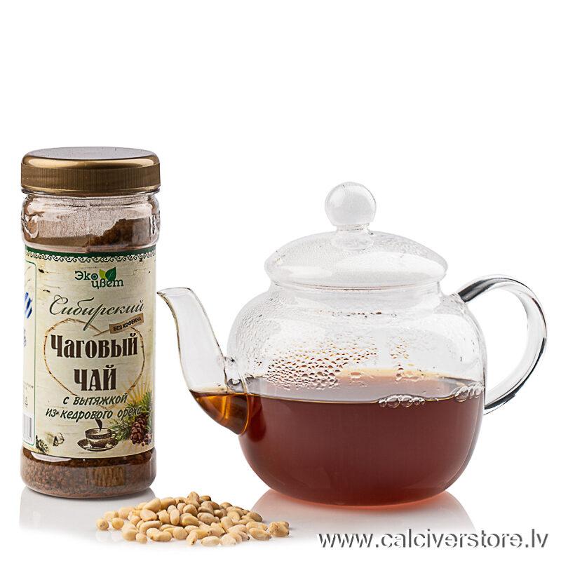 Sibīrijas čagas tēja ar ciedru riekstu ekstraktu, 90g