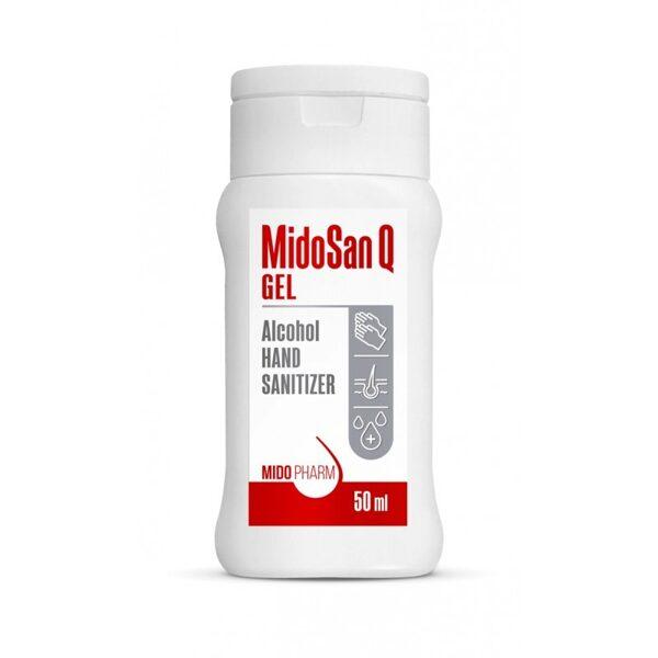 Dezinfekcijas līdzeklis rokām MidoSan Q gēls - 50ml
